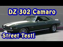 chevy camaro 302 camaro dz 302 nre stealth 427ci test 1969 nelson racing