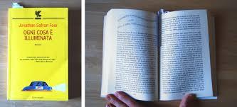 specie di libri 5 ogni cosa 礙 illuminata jonathan safran foer
