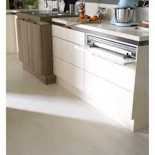 table escamotable cuisine table rétractable stratifié aluminium mat l 95 x p 75 cm ep 140