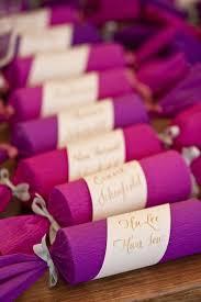 purple wedding favors purple wedding favor wrap