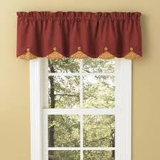 Valance Curtain Country Curtains Mill Village Scallop Valance