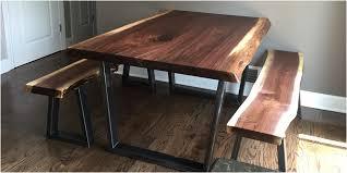 Walnut Live Edge Table by Live Edge Tables U2014 Tree Purposed Detroit Michigan Live Edge