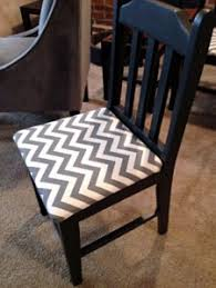 Chevron Armchair You Mean To Tell Me U2026 Stripes Don U0027t Have To Be Straight Planitdiy