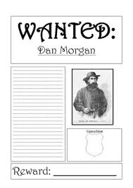 dan morgan bushranger wanted poster template by steven u0027s social
