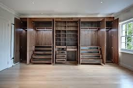 walk in wardrobe designs for bedroom stylish walk in closet decor using built in wardrobe with open racks