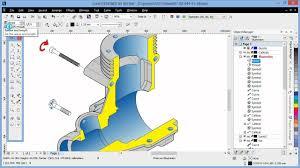 corel designer technical suite projected shape tools in corel designer x6