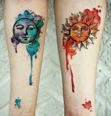 91 moon tattoos that are out of this pinteres
