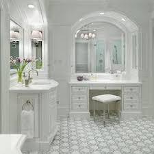 Bathroom Vanity Makeup Built In Bathroom Vanity Home Design Ideas