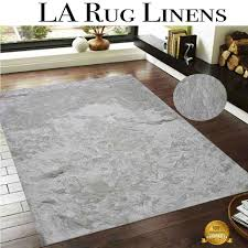 Solid Area Rugs Viscose White Snow Shaggy Shag Area Rug 5x7 Solid Shaggy Design