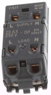 key operated light switch k4917 whi white 20 a key operated light switch mk white 1 way