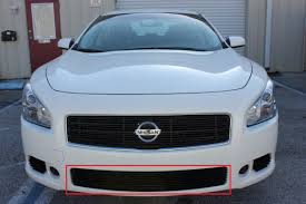 maxima nissan 2013 2013 nissan maxima 4pc combo design mesh grille kit w replace