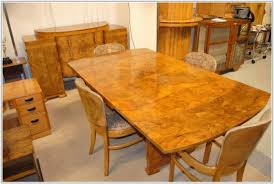 antique art deco dining table and chairs chair home furniture