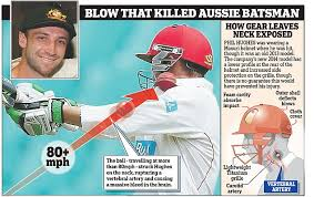 new design helmet for cricket phillip hughes kit could have prevented his injury say experts