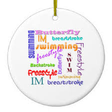 swimming ornaments keepsake ornaments zazzle