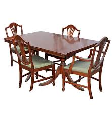 duncan phyfe dining table and chairs ebth duncan phyfe dining table and chairs