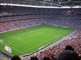 wembley stadium football pitch view jpg
