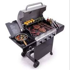 Backyard Grill 5 Burner Gas Grill Reviews New Backyard Grill 2 Cooking Sections Gas Charcoal Outdoor Bbq