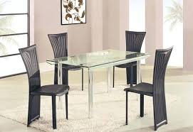 rectangle high top table glass top dining table rectangular high class rectangular glass top