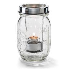 Mason Jar Tea Light Holder Hollowick 1610c Firefly Tealight Candle Holder W Hanging Cradle