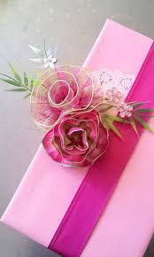 pink gift wrap lovely floral gift topper bebe this gift wrap