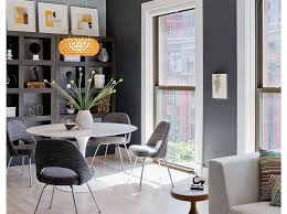 grey dining room table contemporary dining room contemporary