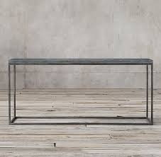 Metal Console Table Bluestone Metal Console Table