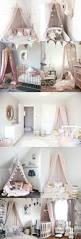 Light Pink And White Bedroom Kids And Baby Room Decor Ideas Magical Pink Canopy Tent Light
