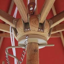 9 u0027 teak wood market umbrella ipatioumbrella com