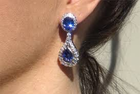 tanzanite earrings tanzanite earrings or sapphire how to tell the difference