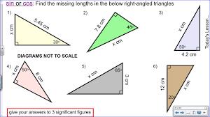 Sin Cos Tan Worksheet Mr Collins Mathematics Blog Teaching Trigonometry