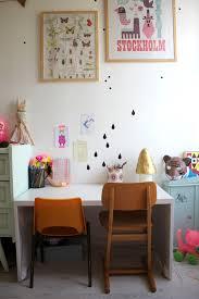 coin bureau dans salle à manger le coin bureau emilie sans chichi
