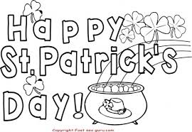 happy st patricks day coloring pages card printable coloring