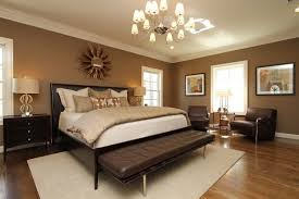 Master Bedroom Relaxing In Warm Neutrals And Luxurious Bedding - Master bedroom design furniture