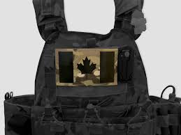 Canadian Flag Patch Canadian Flag Large Velcro Patches Perroz Designs