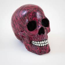 skull coloured ornamental skull menkind