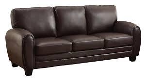 Inexpensive Tufted Sofa by Amazon Com Homelegance 9734db 3 Upholstered Sofa Dark Brown