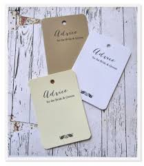 wedding wish tags 50 wedding advice tags bridal shower tags wish cards bridal
