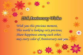 wish wedding 25th wedding anniversary wishes for and wishes4lover