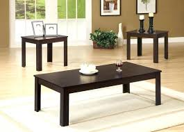 target coffee table set dark walnut end table coffee and end tables 3 dark walnut coffee