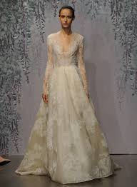 here is every gown from monique lhuillier u0027s fall 2016 wedding