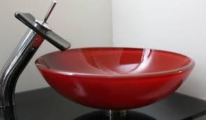 red sink bowl vessel for bathroom useful reviews of shower