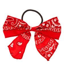 bandana bow bandana bow hair tie s