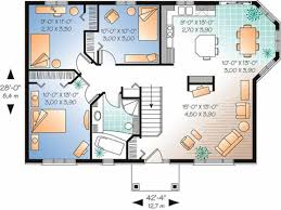 1500 square feet bungalow plans nice home zone