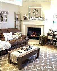 grey walls brown sofa gray walls with brown furniture living room decorating wall shelves