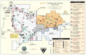 Colorado Trail Maps by Golden Gate Canyon State Park Outthere Colorado