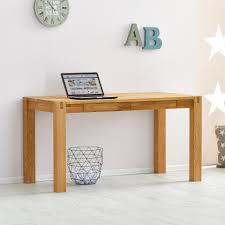 Schreibtisch 1m Breit Schreibtisch Eiche Geölt 140x70 Cm Modernes Design Dänisches