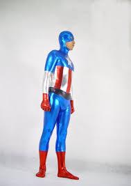 Captain America Halloween Costumes Captain America Cosplay Costume Zentai Men Cosercosplay