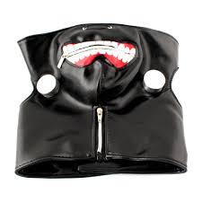 zip mask halloween new tokyo ghoul kaneki ken adjustable masks cosplay mask halloween