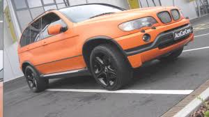 matte bmw x5 matt orange bmw x5 vehicle wrap ace car care shropshire youtube
