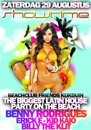 ra showtime the biggest latin house party on the beach at
